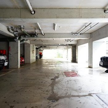 駐車場もしっかり!
