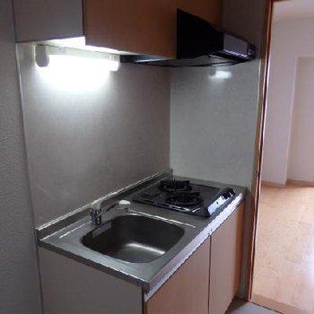 キッチンは2口あります!※画像は別室
