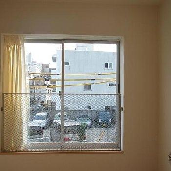 部屋から見た外の景色です※イメージです