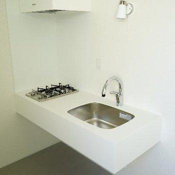 キッチンは2口ガスです!