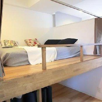 子供ごころをくすぐる2段ベッド。※写真は別部屋です
