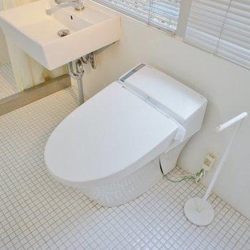 タンクレスのトイレ!