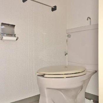 トイレはふつうでした。