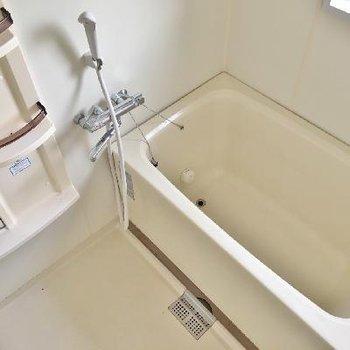 お風呂には窓があるのがうれしい◎これからクリーニングもはいります1