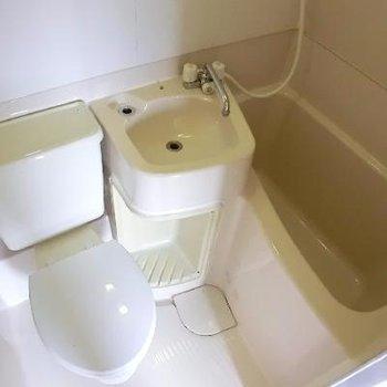 洗面台は使いやすそう。