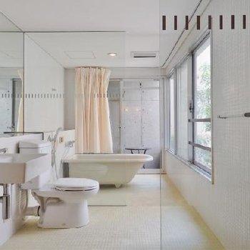 すごいバスルーム!!