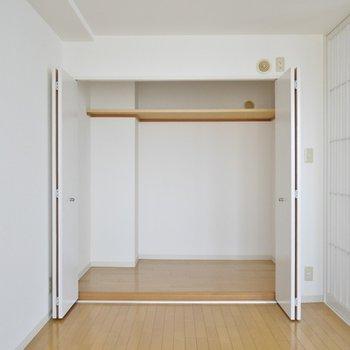 大きな収納のお部屋。