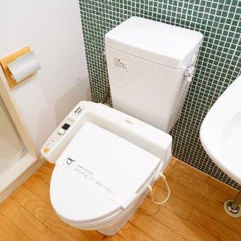 トイレはウォシュレット付き! ※写真は前回募集時のものです。