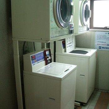 ▽洗濯はこちらで!共同になります。