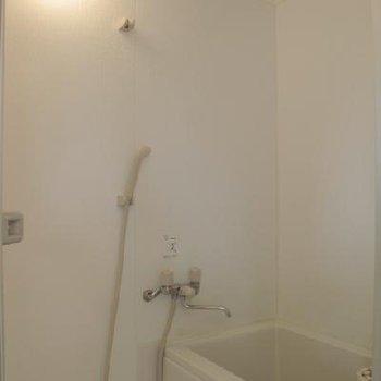 お風呂はきれいですが見た目小さめ※写真は同間取り、別部屋です