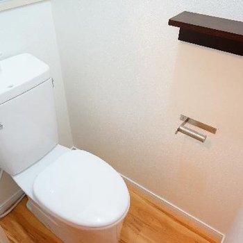 トイレもちゃんと個室◎