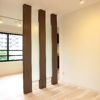この三本柱が好き。