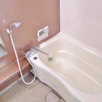 お風呂は追い焚きつきなのです!