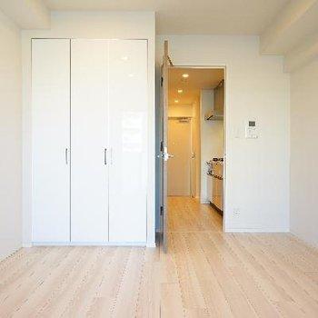 とても清潔なお部屋ですよ!