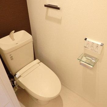 トイレ・ウォシュレット付き※写真は別部屋