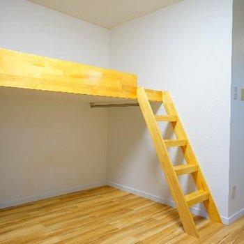 はしごも上りやすくていい感じ♪