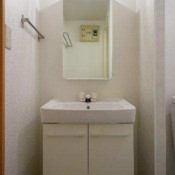 洗面台も独立してます!