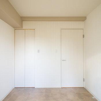 スッキリ寝室