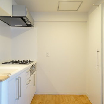 キッチン空間も贅沢に。