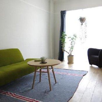 家具を入れるとより素敵な空間に※写真はイメージ
