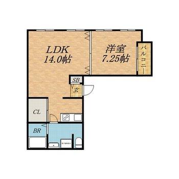 広々としたお部屋。