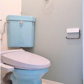 トイレはちょいと個性的。