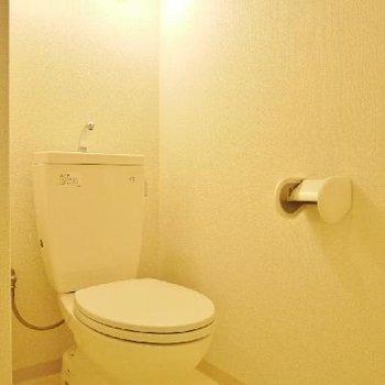 トイレもシンプルに!