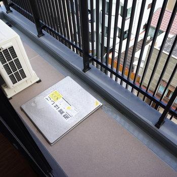 バルコニーもゆったり!※写真は6階の同間取り別部屋のものです