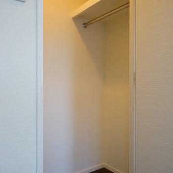 大きなWICに!※写真は6階の同間取り別部屋のものです