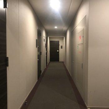 突き当りが今回のお部屋です