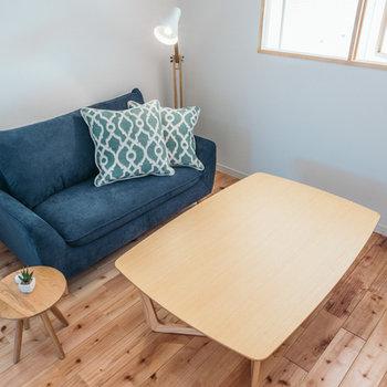 どんな家具とも相性◎の無垢床に※写真はイメージ