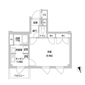廊下、キッチン、しっかり分かれてます。