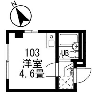 板橋本町4分マンション の間取り
