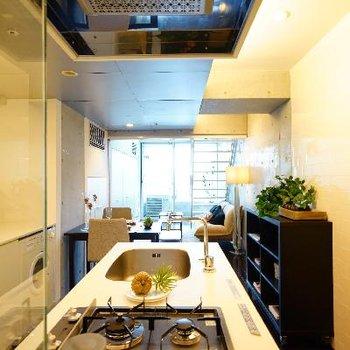 このキッチンにたつ特別感もスゴイです。
