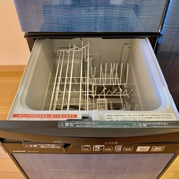 なんと食洗機も付いています。