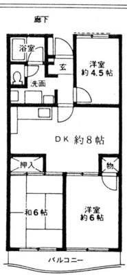 グリーンコーポ金田1号棟 の間取り