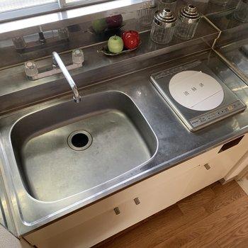 洗い場が広くて使いやすそう
