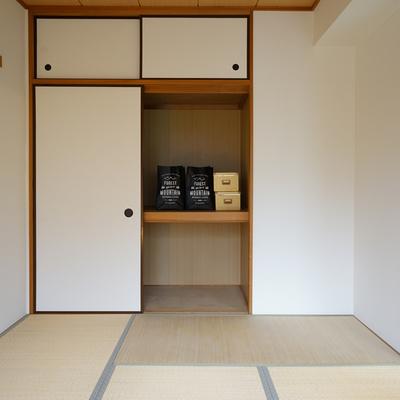 隣は和室に。
