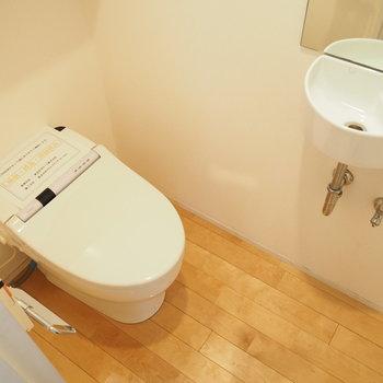 1階のもトイレあり