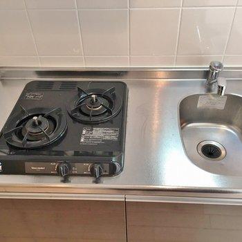 調理スペースが少し狭いのが残念。。。