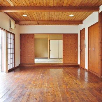 1階。おお!和室がキレイ!!