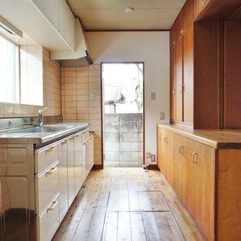 キッチンはこんなスペース
