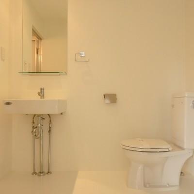 洗面所、広くていいですね!