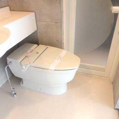 コンパクトなトイレですね!