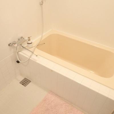 浴槽も十分なスペースです