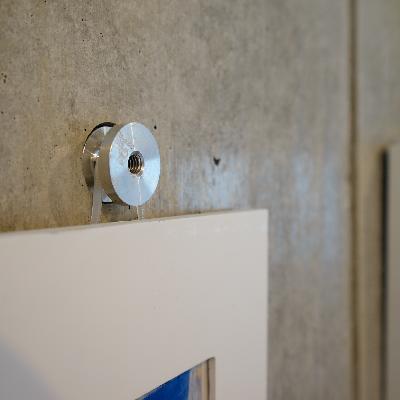コンクリの壁は、こうやって使えます!!