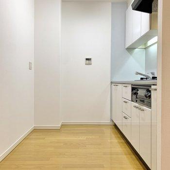 キッチン、かなりゆとりのある造りです!