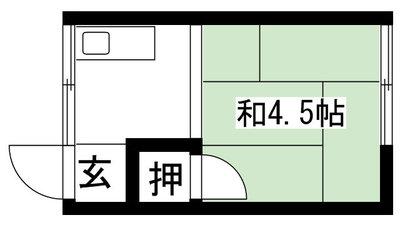 藤田アパート の間取り