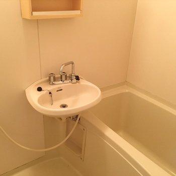 お風呂は普通サイズ!