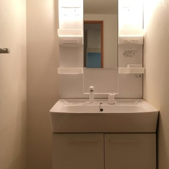 独立洗面台もあり!
